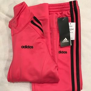 Adidas warm up 2pc set NWT